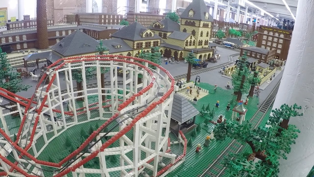 Worlds LARGEST LEGO minifigure display - video tour - See ...