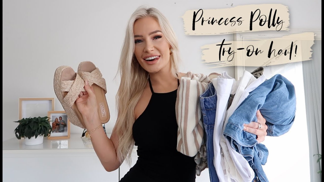 [VIDEO] - PRINCESS POLLY TRY-ON HAUL! // 6 SPRING INSPIRED OUTFITS ♡ 8