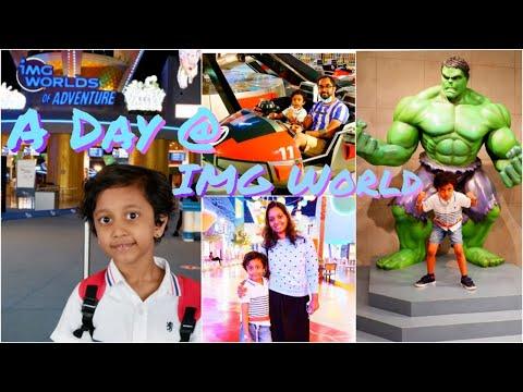 IMG World's of Adventure Dubai   World Largest Indoor Theme Park   UAE Mallu  