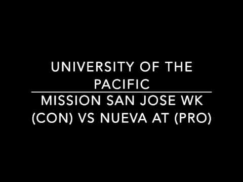 Mission San Jose WK vs Nueva AT University of the Pacific Invitational 2015