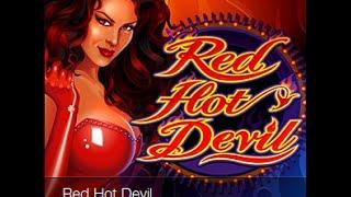 Заработок в казино ( автомат Red Hot Devil )|заработок с помощью автоматов