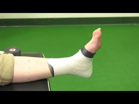 How To Properly Tape An Ankle