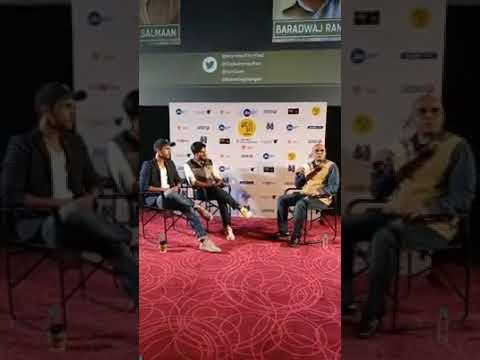 Rajkummar Rao and Dulquer Salmaan in conversation with Baradwaj Rangan / mumbai./ kerala