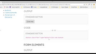 Coding Out the Page Nav and Placeholder HTML for UI and Media Pages