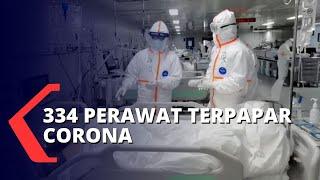 Total 334 Perawat Terpapar Covid-19 di Jawa Timur