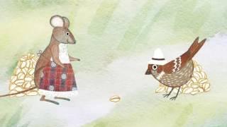Шыр но ӟольгыри/Мышь и воробей.  Удмуртская народная сказка