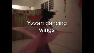 yzzah Belly dance,alas de isis,improvisacion,cancion ahaat! Thumbnail