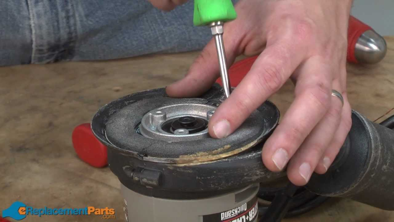 How To Replace The Pad Support On A Porter Cable 333 Series Sander