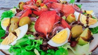 Как удовлетворить мужчину?    Вкусный Салат с Тунцом и Фасолью Рецепт Новый год 2019