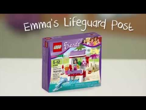 LEGO® Building with Friends - Emma's Lifeguard Post Quick Build