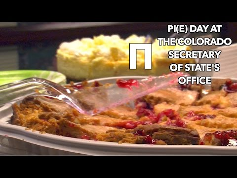 Pi(E) DAY AT THE COLORADO SOS OFFICE