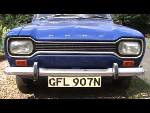 'Barnfind' classic Mk1 Ford Escort with 900 miles from new!  - Jonny Smith Carpervert
