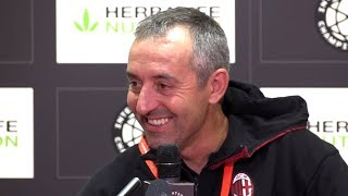 Man Utd 2-2 AC Milan (5-4 Pens) - Marco Giampaolo Post Match Press Conference - ICC