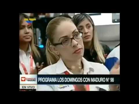 """Le Président du Vénézuela Annonce en Direct sa Propre cryptomonnaie """"le PETRO"""" 03/12/2017"""