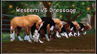 Western VS Dressage | SSO