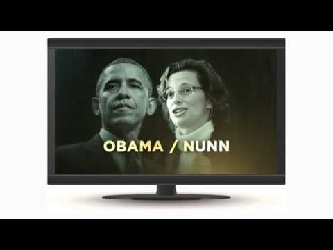 Dissecting Campaign Ads: David Perdue & Michelle Nunn