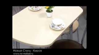 Кухонные столы с искусственным камнем(Кухонные столы, покрытые слоем искусственного камня, считаются очень прочными и долговечными. Более подро..., 2015-08-19T12:09:03.000Z)