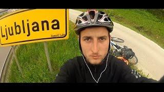 Z Brna na kole k moři 2014