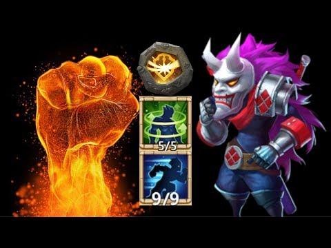 Ninja | 9/10 Stealth | 9/9 Survival | BT 30 Vs Top | Castle Clash