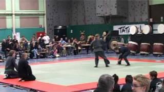 Demo #1 Dag der Krijgskunsten Tienen - Genbukan Chiryaku Dojo Belgium vzw - Ninpo/Jujutsu