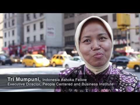 Ashoka at CGI: Indonesia Fellow Tri Mumpuni