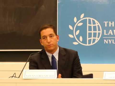 Glenn Greenwald at NYU Law School Part 2