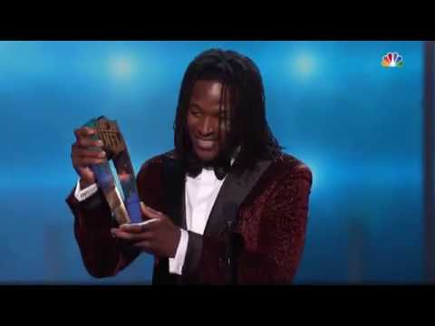Alvin Kamara Wins 2017 NFL Offensive Rookie of the Year | 2018 NFL Honors