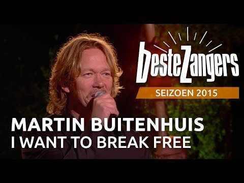 Martin Buitenhuis - I want to break free | Beste Zangers 2015