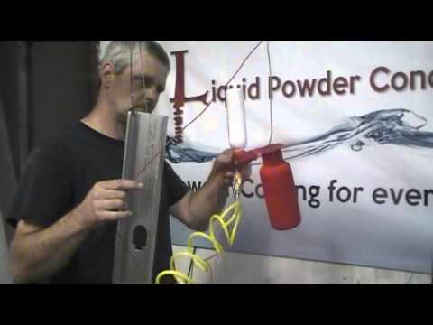 how to use powder coat paint