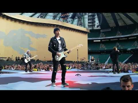 U2  Bad London  (from up front) Twickenham Stadium  8 July 2017