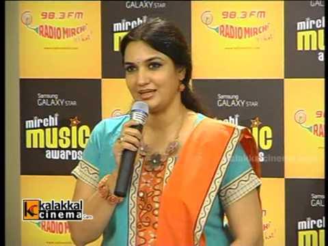 Sukanya At Mirchi Music Awards Press Meet