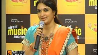 Sukanya at Mirchi Music Awards Press Meet