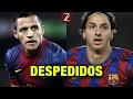 Los 10 Jugadores Estrellas que Barcelona Desperdicio | Zicrone21