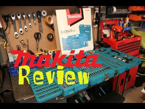 Makita 252 Piece Set Unboxing And Review - P-67692