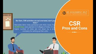 Advantages and Disadvantages of CSR - MyAssignmenthelp.com