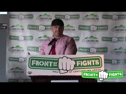 Front Street Fights Debut Press Conference