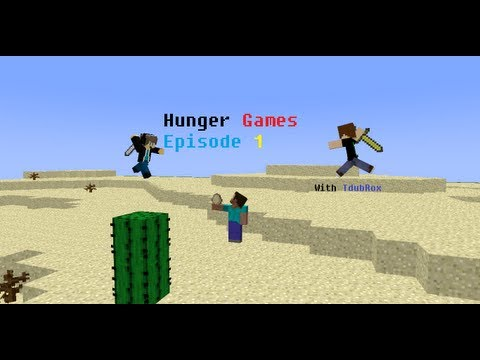 Minecraft Hunger Games With Alstar And TdubRox Episode 1: To Skydoesminecraft And Deadlox