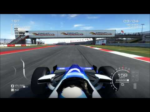 GRID Autosport: Indycar at Circuit of The Americas