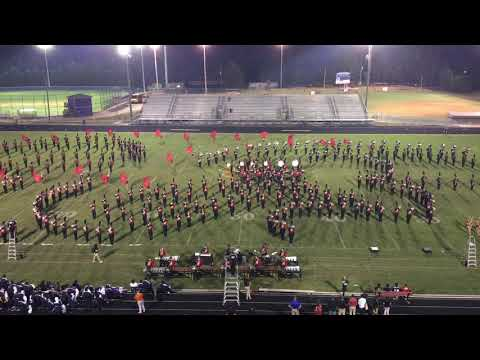 UGA Redcoats Marching Band Presents 2nd Halftime Show