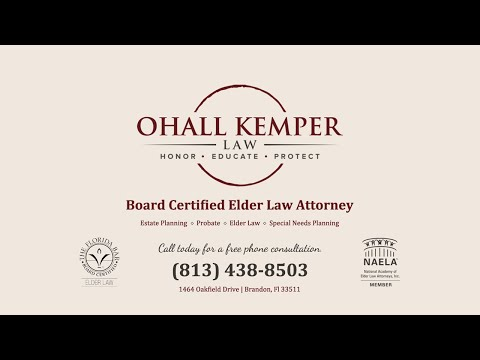 Tampa Elder Law Expert; Estate Planning & Probate Lawyer: Laurie Ohall