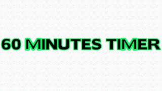 1 hour Countdown 60 minutes Timer Alarm Clock