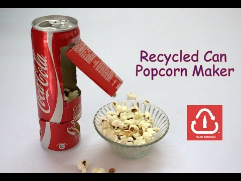 Thumbnail: How to Make a Recycled Can Popcorn Machine