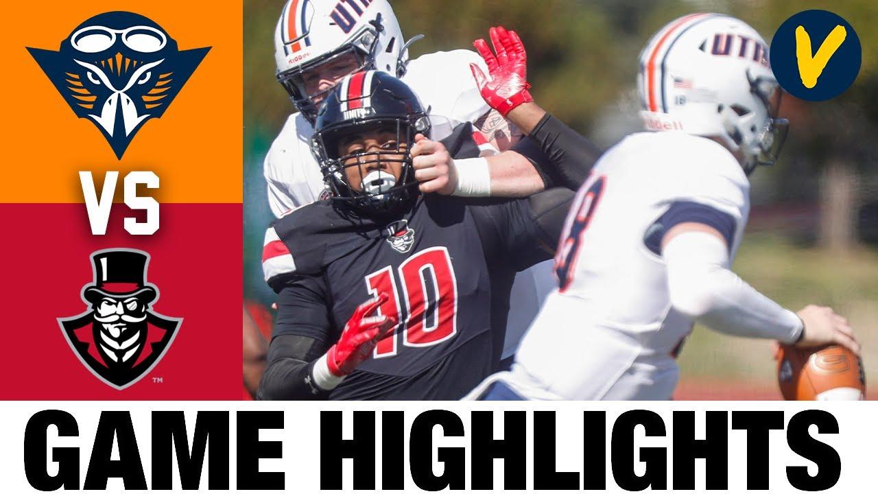 UT Martin vs Austin Peay Highlights | FCS 2021 Spring College Football Highlights