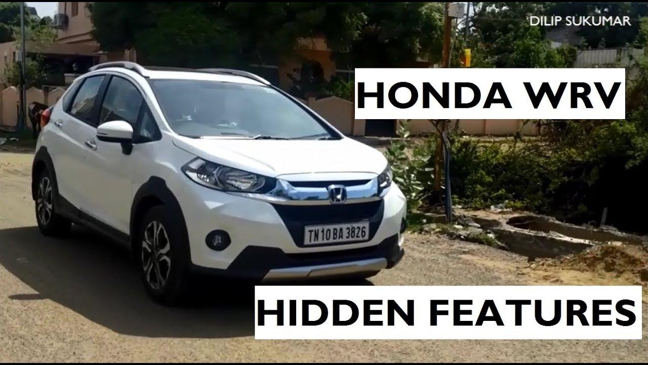 Hidden Features Of Honda Wrv Youtube