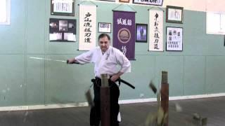 Toyama Ryu & Nakamura Ryu Battodo #17: Tameshigiri variations #4.  2011