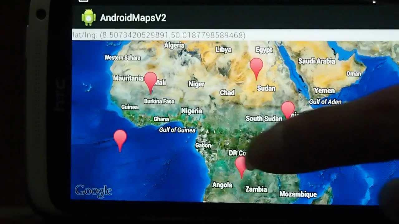 Google Maps Android Api V2 Example Draw Polygon On Googlemap Youtube