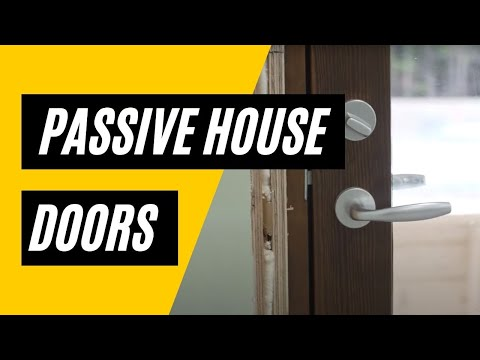 Passive House Door What Are They Youtube