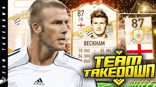 DAVID BECKHAM TEAM TAKEDOWN!!! Ft. Insane Pack Pull!!!