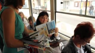 Zažít město jinak - občerstvení v tramvaji