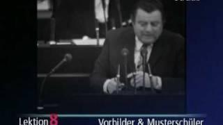 """Wehner vs Strauß:  """"Herr Strauß und seine Mitsträuße"""""""